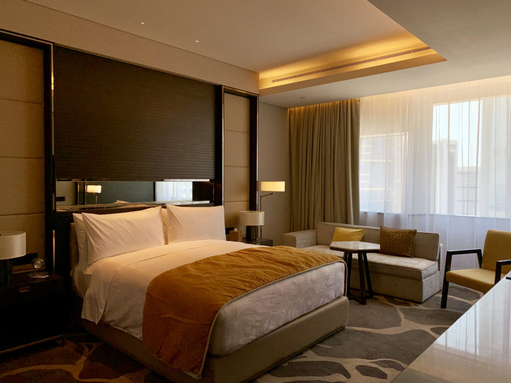 JW Marriott project picture LED Strip Lighting and lamps