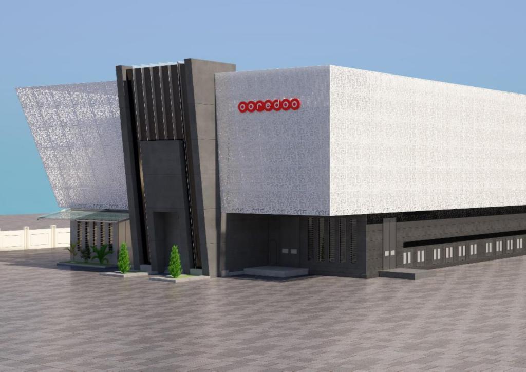 Oredoo Data Center outside