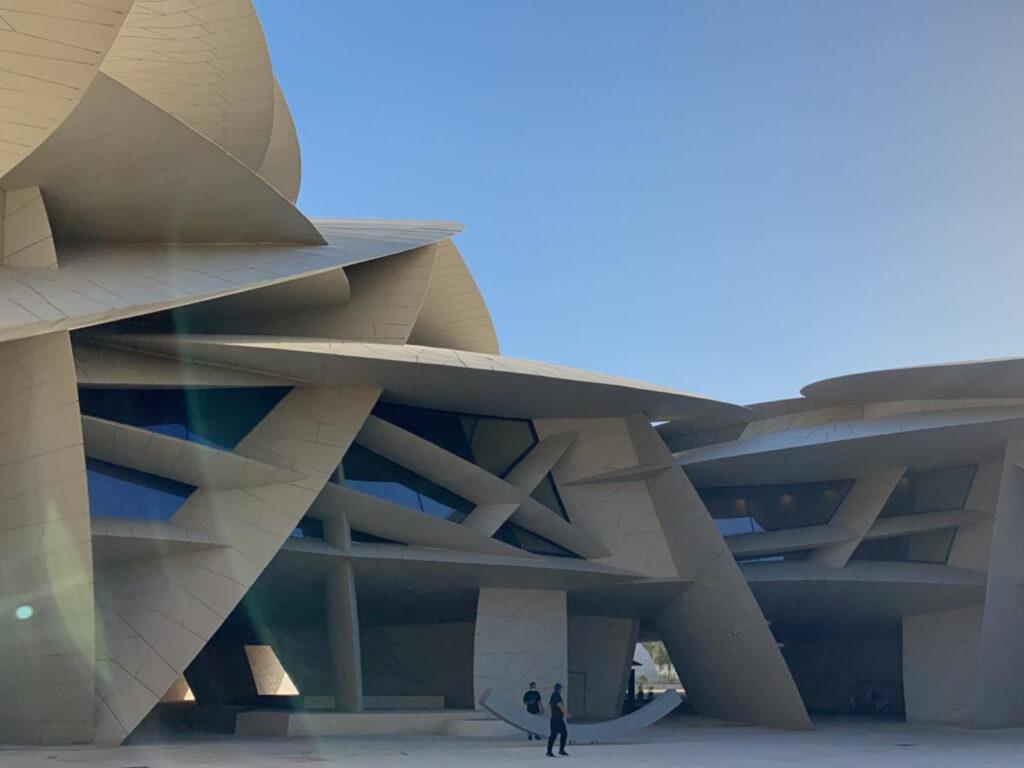 qatar national museum outside