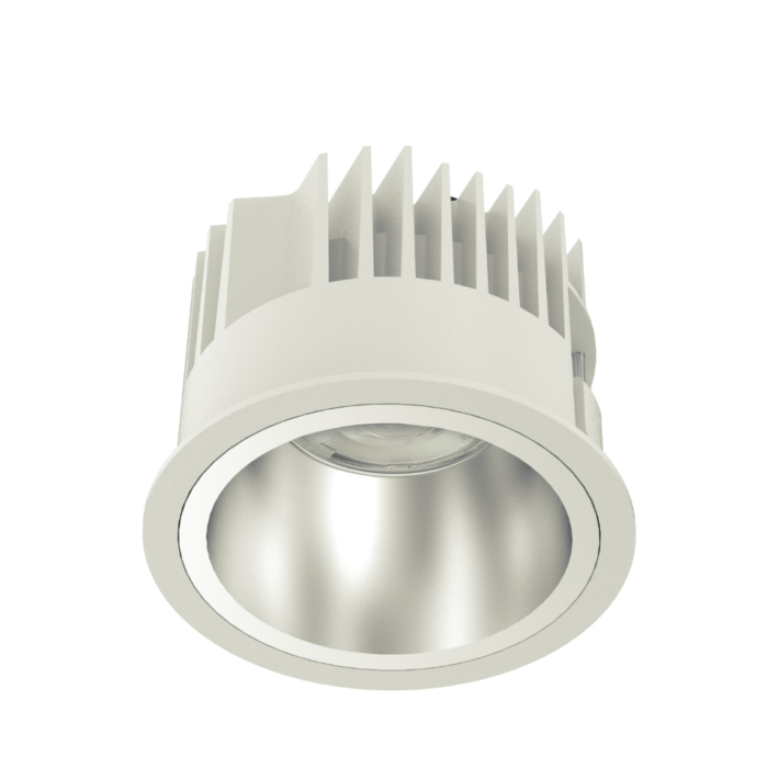 SOLE 100 LED recessed downlight perspective