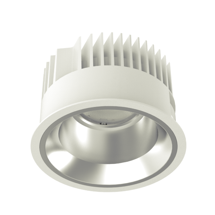 SOLE 150 LED recessed downlight perspective