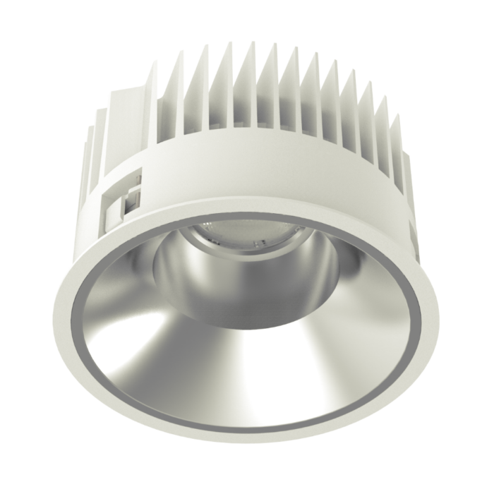 SOLE 200 LED recessed downlight perspective view